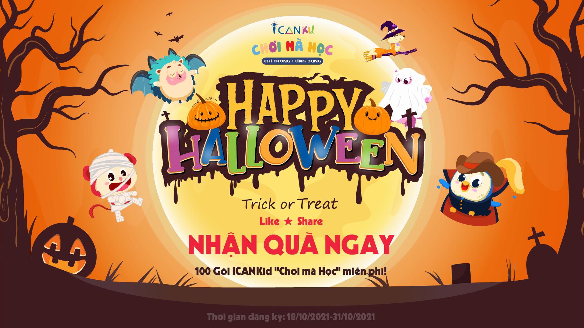 Halloween! Trick or Treat... Cho kẹo hay Bị ghẹo?