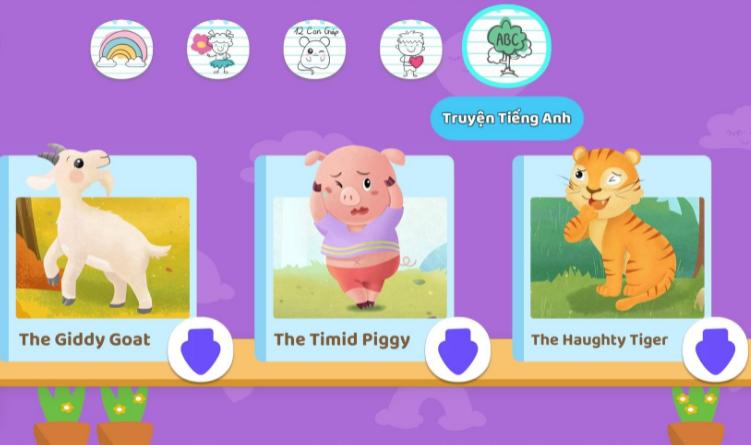 ICANKid có gì đặc biệt hơn app học Tiếng Anh cho bé  thông thường?
